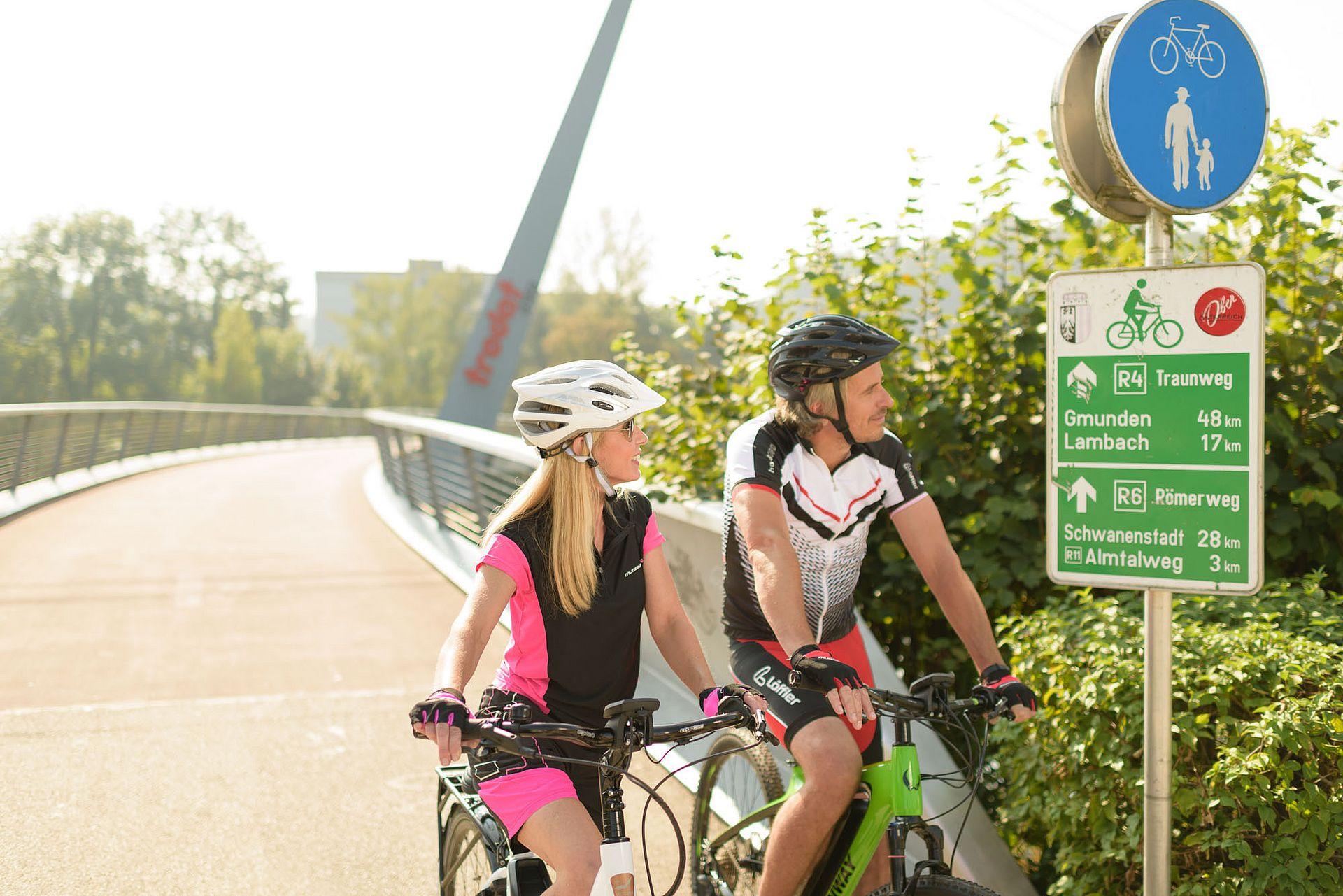 Radfahren in Wels Stadt Wels Verwaltung