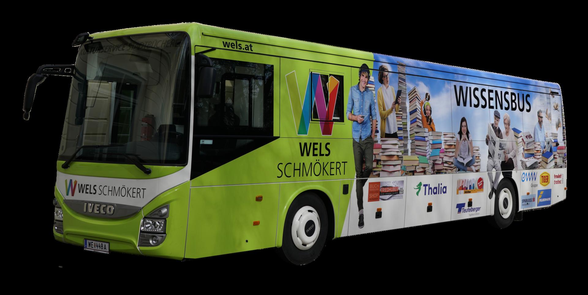 Der Wissensbus der Stadt Wels