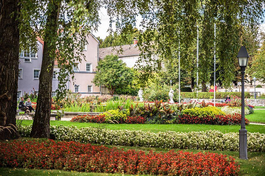 Burggarten Blumen