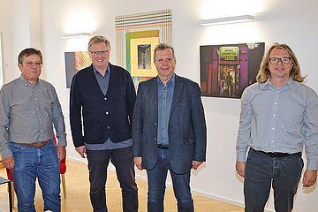 Finissage Kunst beim Kulturstadtrat