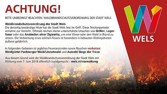 Verordnung zum Waldbrandschutz