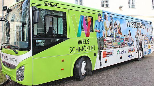 Welser Wissensbus (außen)