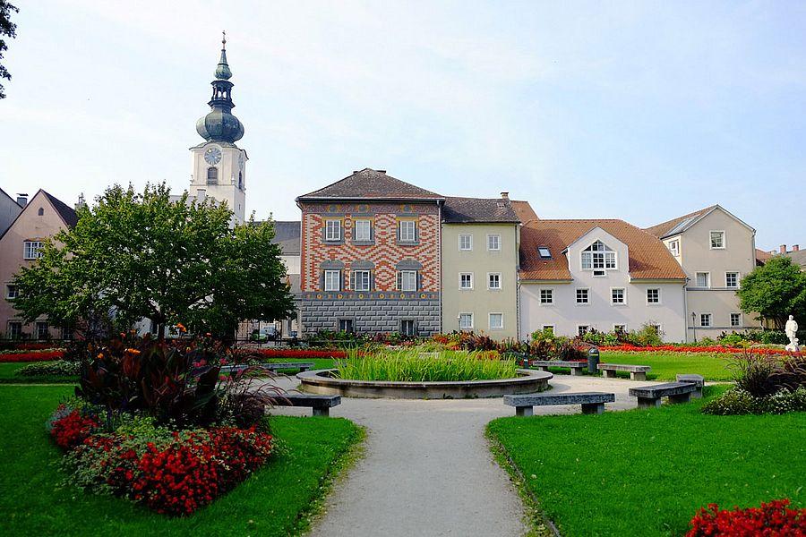 Burggarten Ausblick