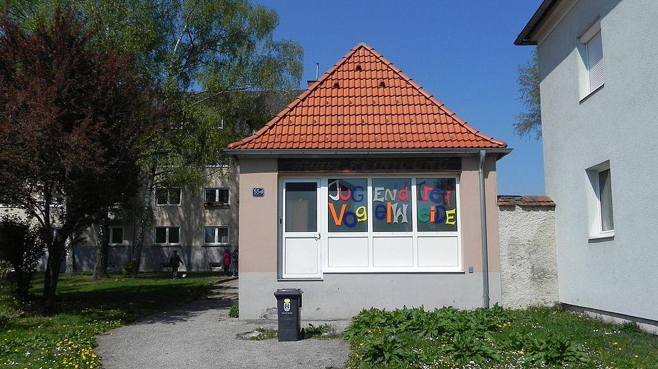 Jugendtreff Vogelweide - Gebäude von außen