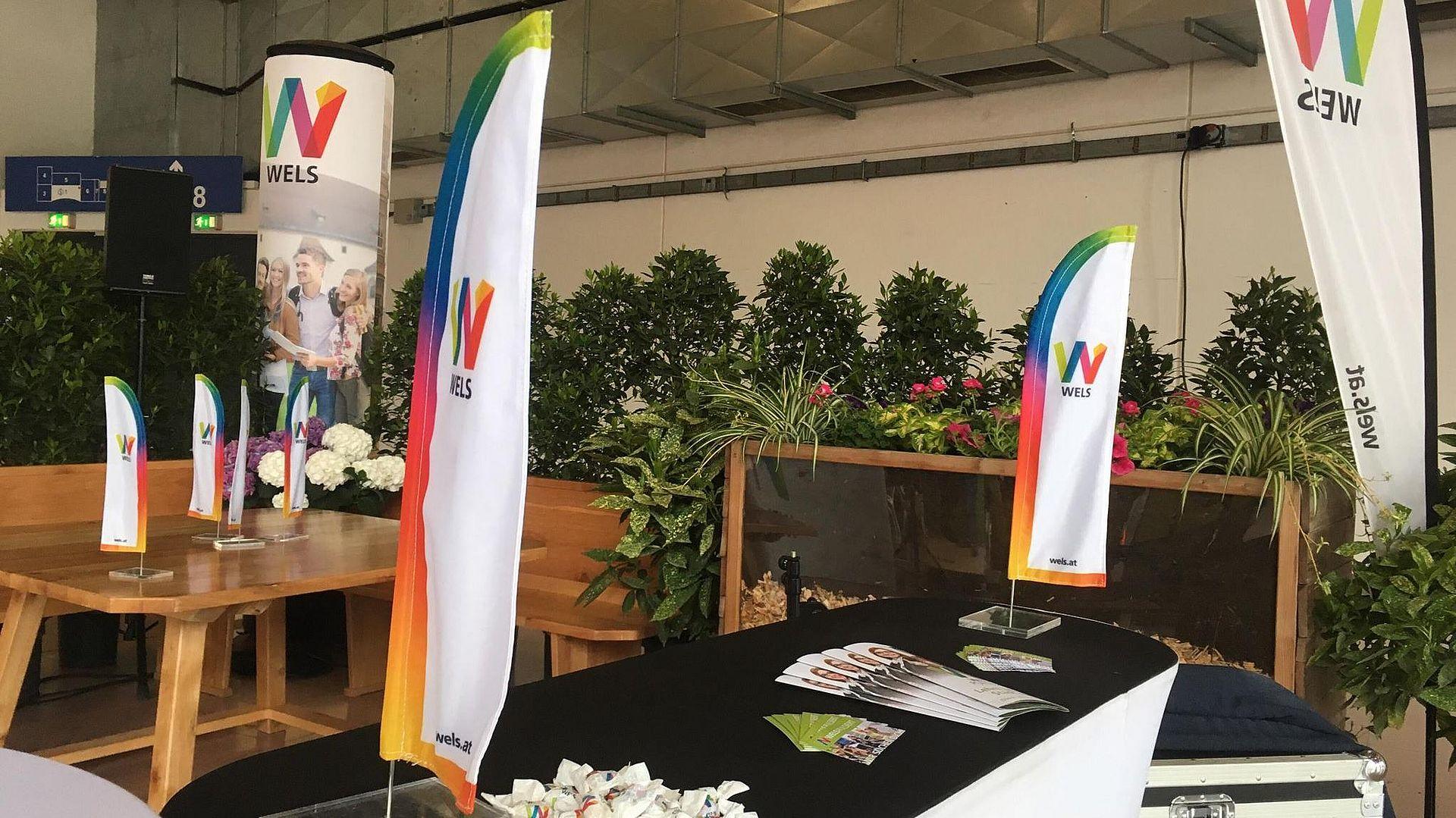 Stand auf der WKO Lehrlingsmesse 2019