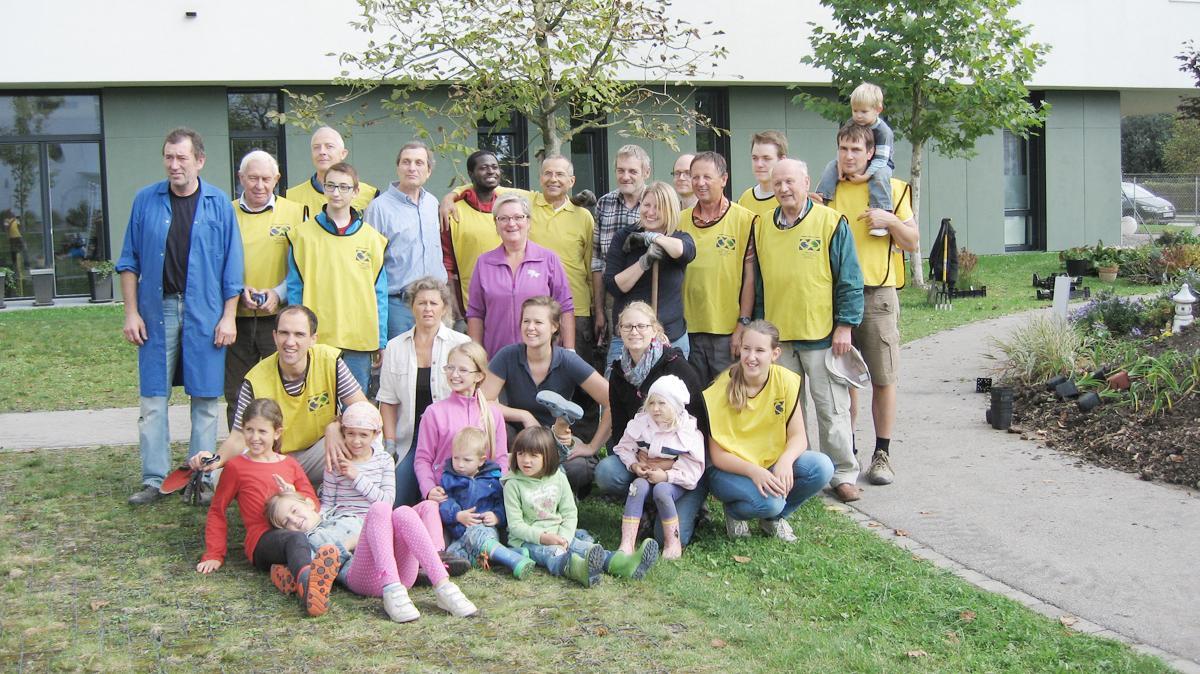 Ehrenamt - Gruppenfoto