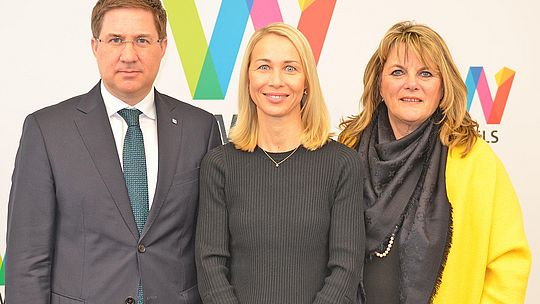Pressekonferenz Corona - Gruppenbild