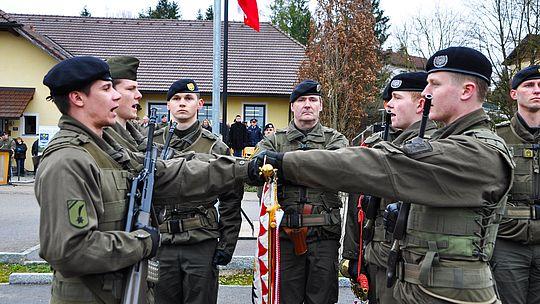 Foto Angelobung Militär OÖ