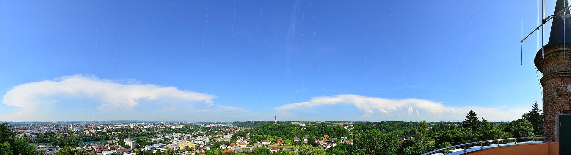 Panorama Ausblick Marienwarte