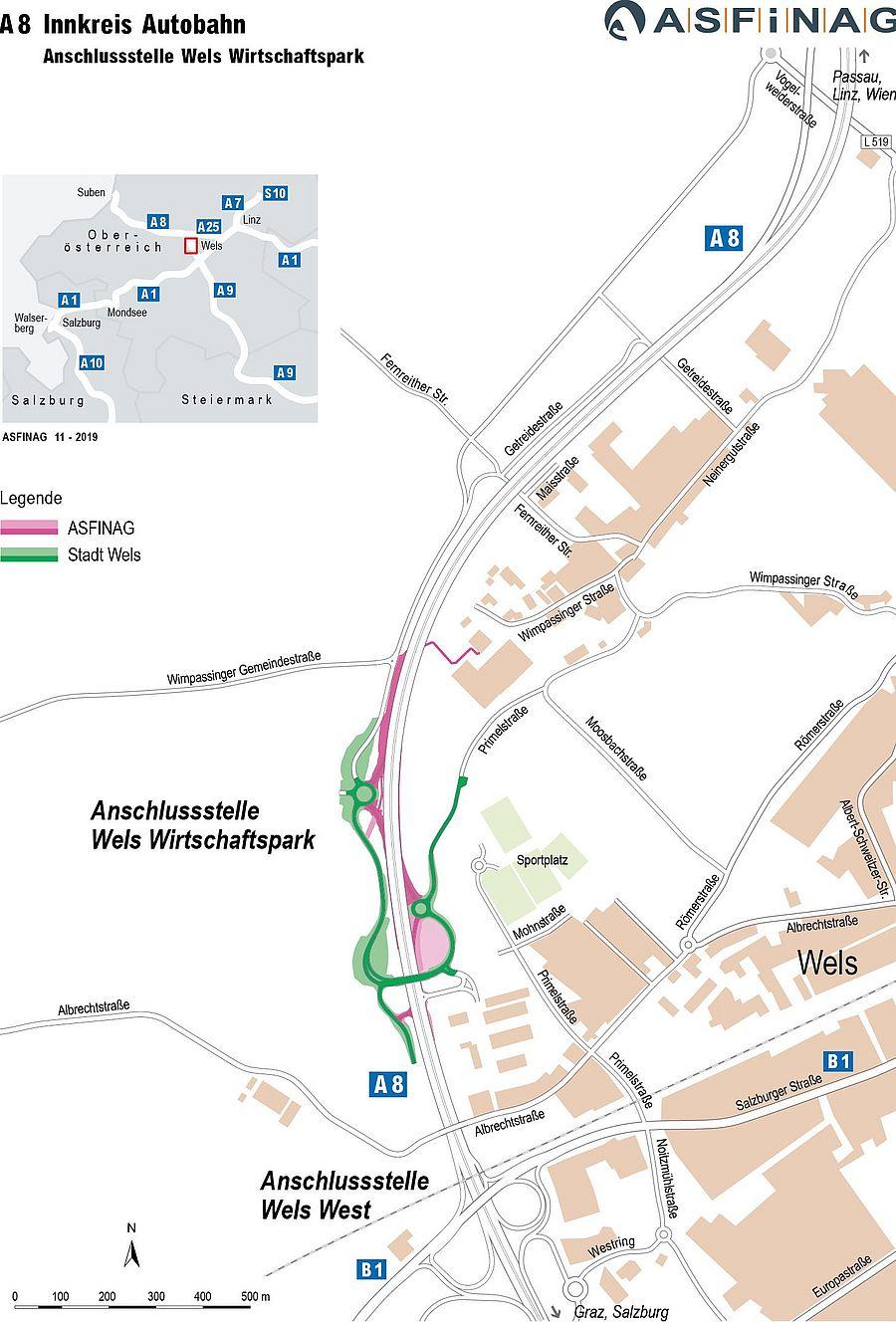Anschlussstelle Wels Wirtschaftspark