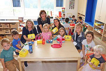 Jausenboxen Kindergarten Negrellistraße