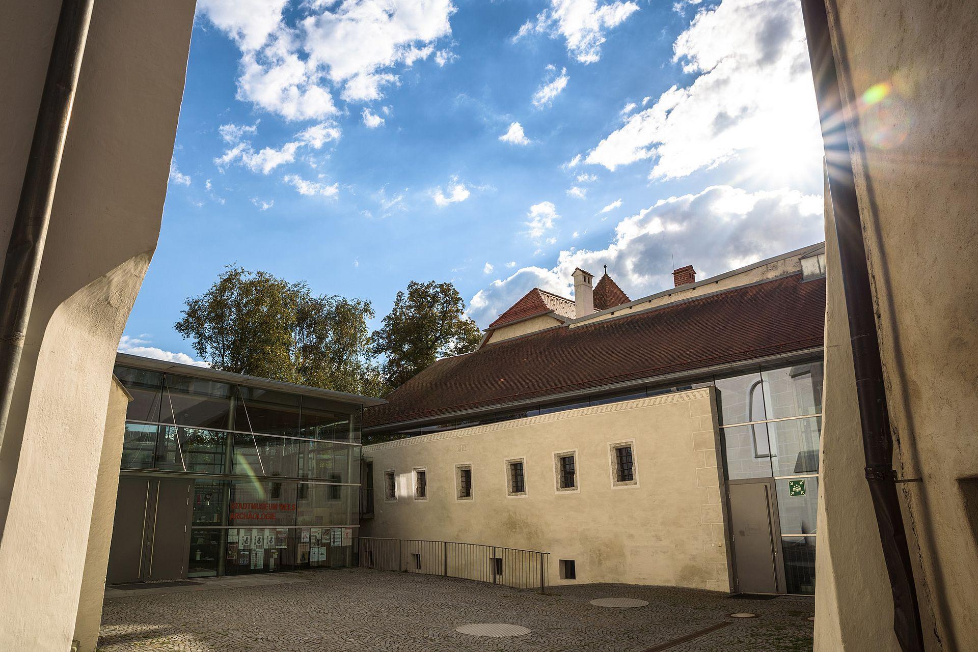 Eingang Museum - Minoriten