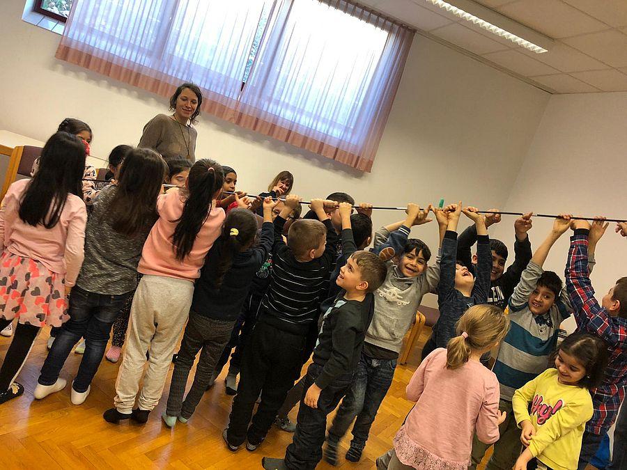 Workshop für und mit Kinder