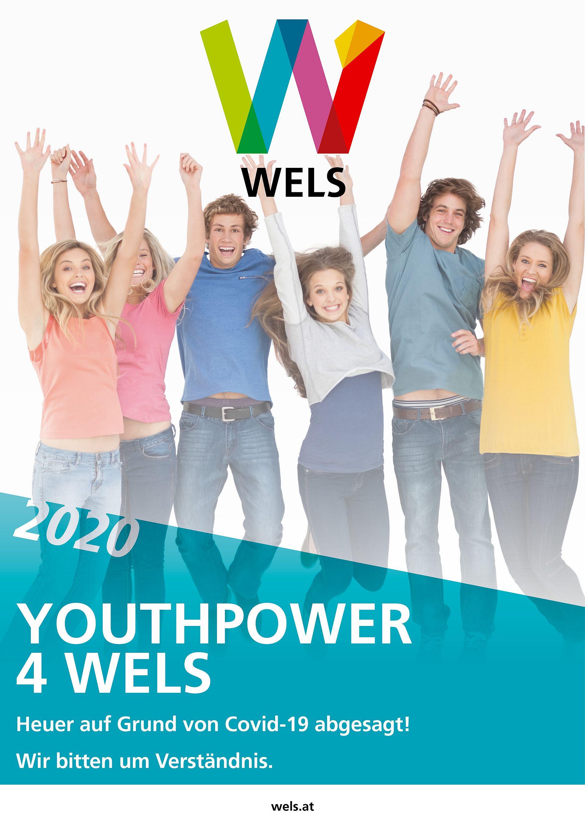Absage von Youthpower 4 Wels 2020 - Jugendliche springen in die Höhe
