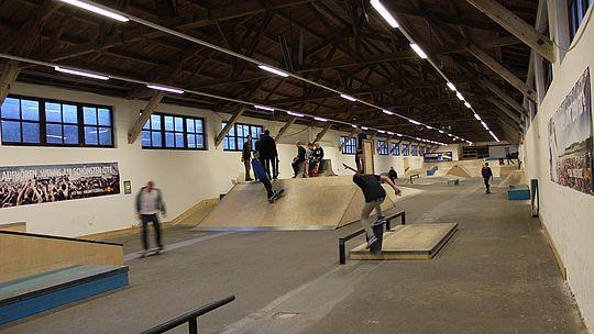 Skateboardhalle