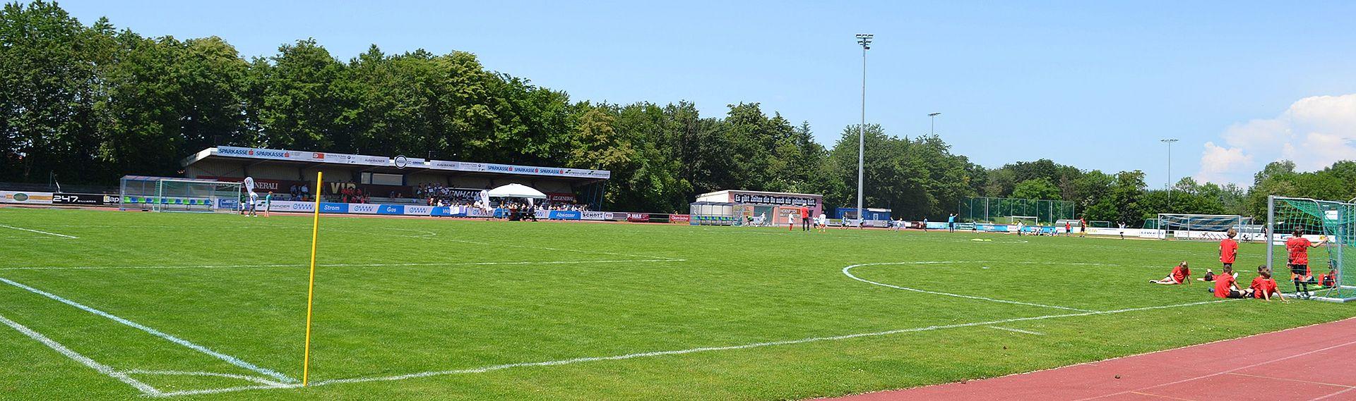 Banner Sport - Fußballfeld