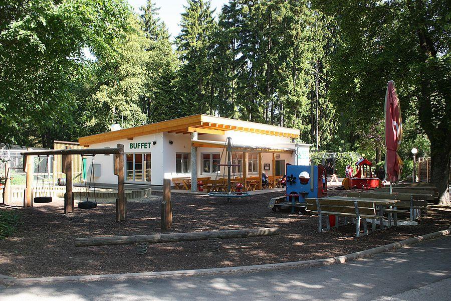 Tiergarten-Buffet von außen