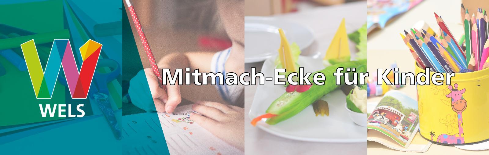 Welser Mitmach-Ecke für Kinder