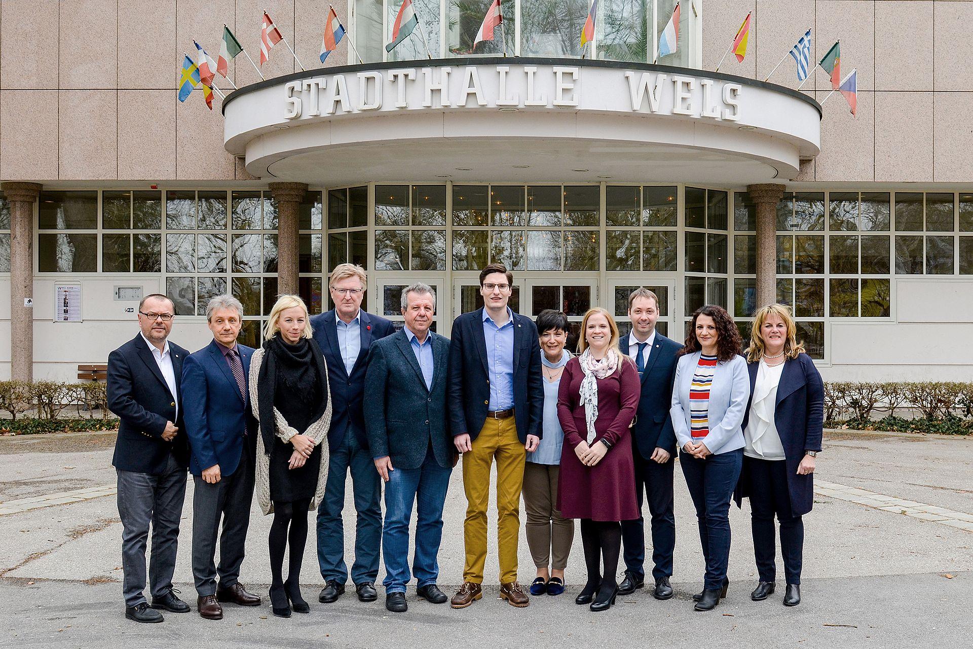 Fraktion der SPÖ - Gruppenfoto