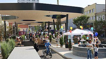 Eröffnung Kaiser-Josef-Platz