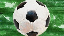 Illustration eines Fußballes