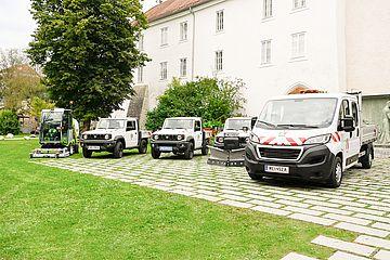 Neue Fahrzeuge Stadtgärtnerei Kommunale Dienste