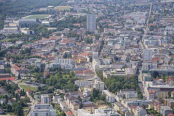 Luftbilder der Stadt Wels