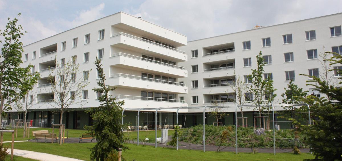 Außenansicht Haus Vogelweide-Laahen