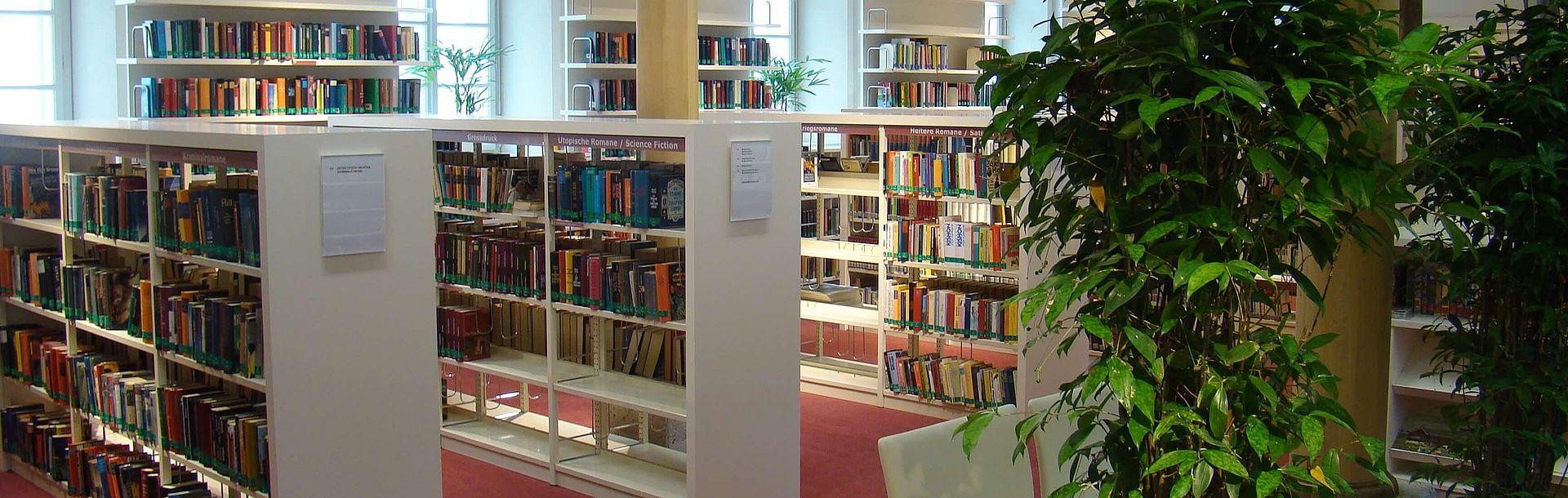 Stadtbücherei - Bücherregale