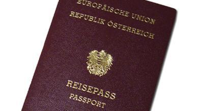 Bild eines österreichischen Passes