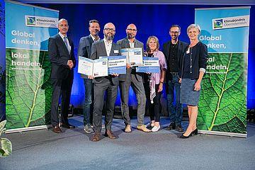 Verleihungsfeier Klimabündniskonferenz