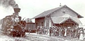 Die Eröffnung der Strecke Sattledt-Grünau der Lokalbahn Wels am 16.05.1902