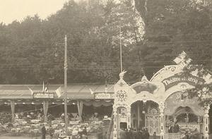 Vergnügungspark, Volksfest 1910