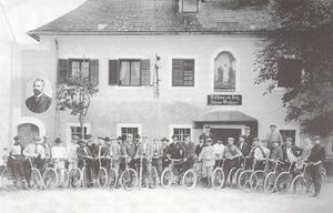 Radfahrverein Wels, gegründet 1886