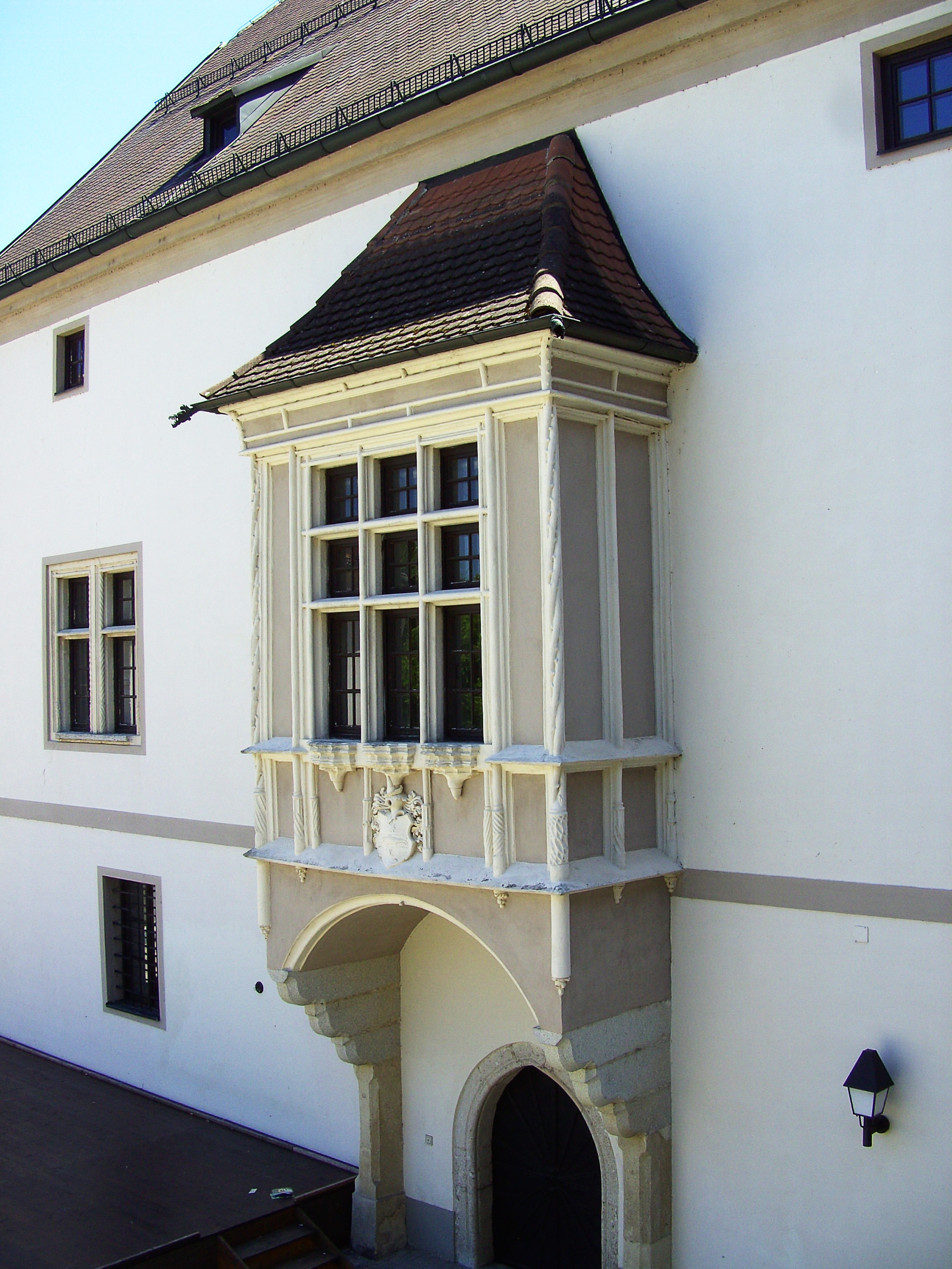Erker Burg Wels