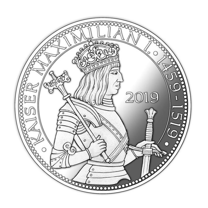 Gedenkmedaille Kaiser Maximilian I